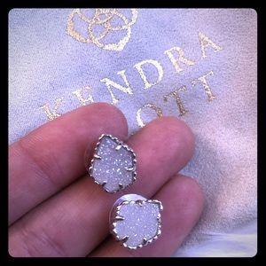 New Kendra Scott Tessa drusy stone earrings